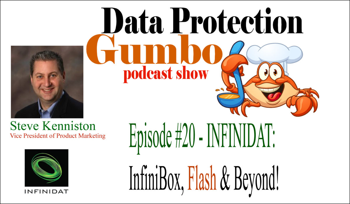 020: INFINIDAT: InfiniBox, Flash and Beyond! – Data Protection Gumbo