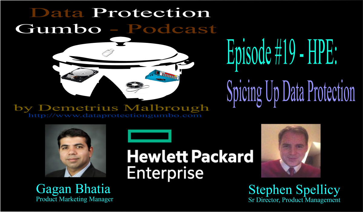 019: HPE: How to Spice Up Your Data Protection Environment – Data Protection Gumbo