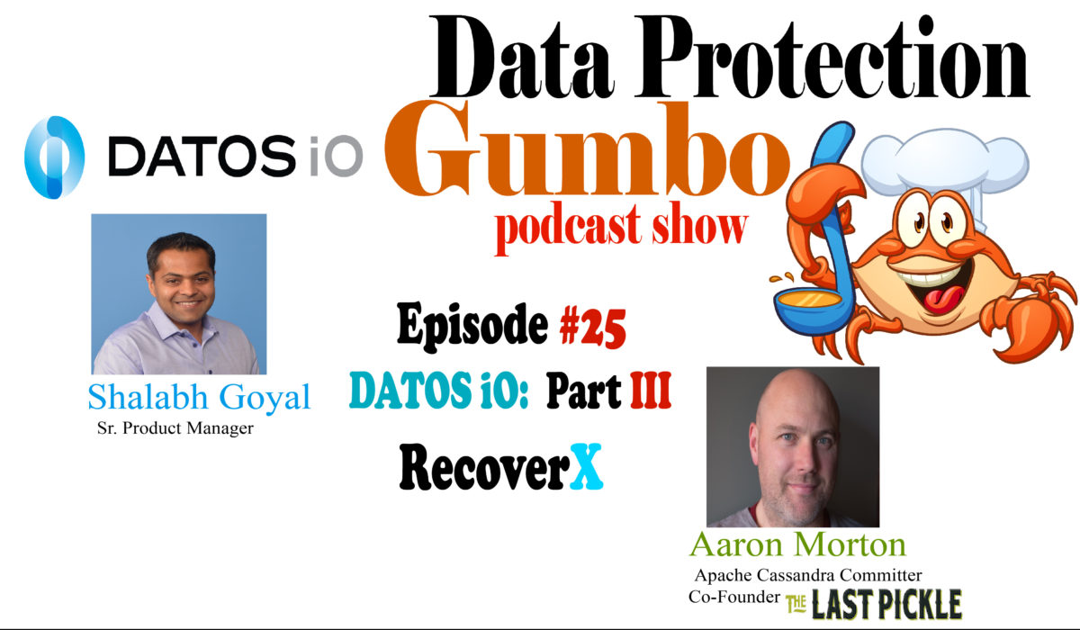 025: DATOSiO: Part 3, RecoverX – Data Protection Gumbo
