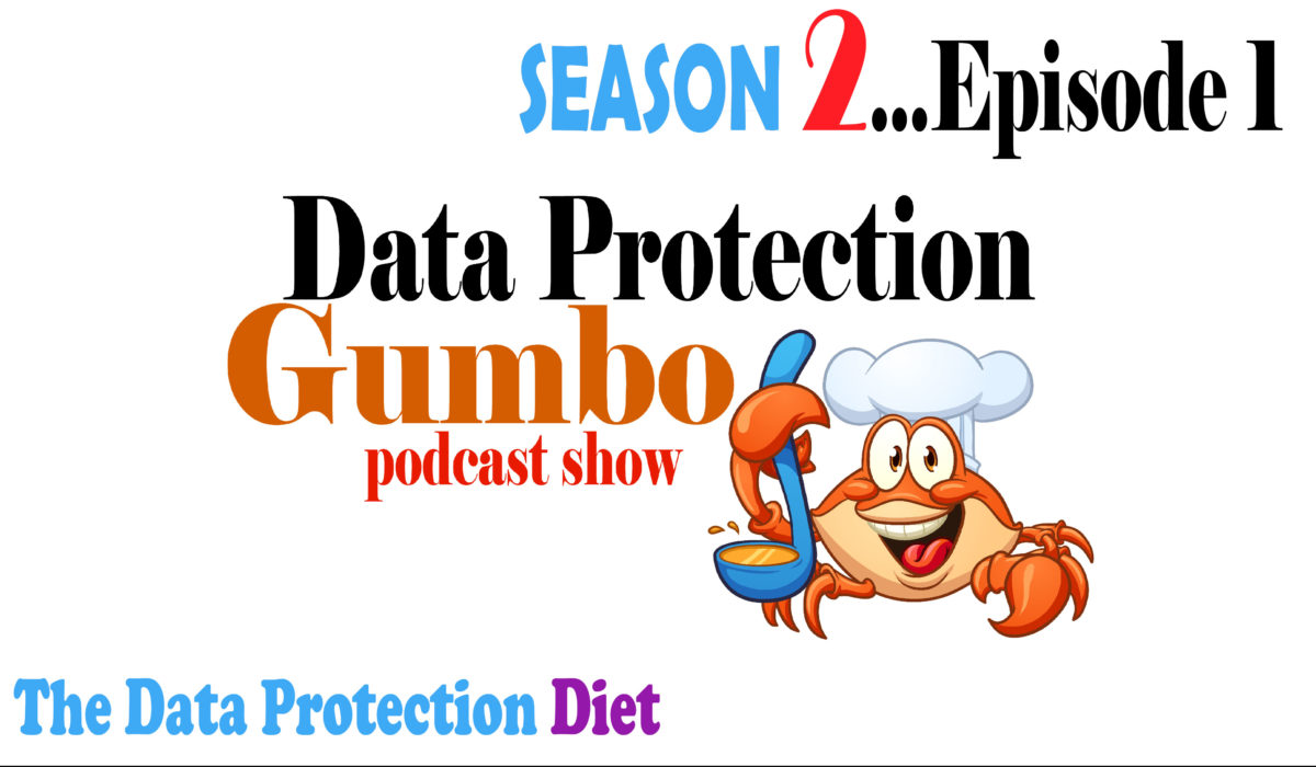 028: Data Protection Gumbo – Season 2: Episode 1 – The Data Protection Diet