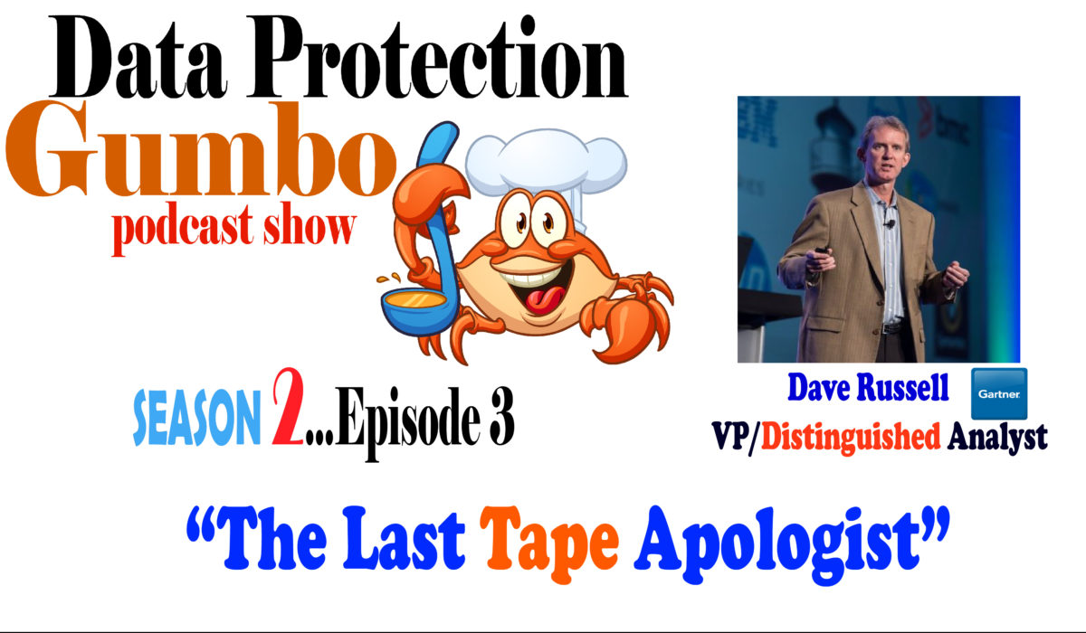 030: Data Protection Gumbo – Season 2: Episode 3 – Dave Russell: The Last Tape Apologist